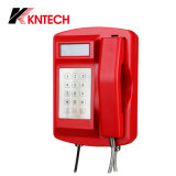 Boîte Emergency Knsp-18LCD d'appel téléphonique de téléphone imperméable à l'eau de Koontech