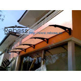 Policarbonato Awnings/Canopy/Gazebos/Shelter para Windows & Doors (f)