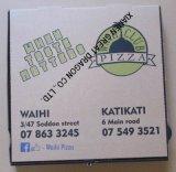 B 또는 E 플루트 Kraft Eco-Friendly 피자 상자 (PB160630)