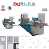 Farben-Drucken-Serviette-Papier geprägte faltende Gewebe-Serviette-Maschinen