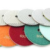 Tamponi a cuscinetti per lucidare bagnati del diamante bianco professionale della resina