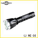 Schwarze nachladbare 260 Lumen CREE XP-E LED Fackel (NK-1867)