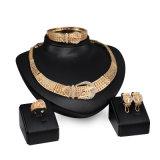 과장된 벨트 다이아몬드 합금 4 PCS 보석 고정되는 형식 아프리카 결혼식 황금 Jewelry