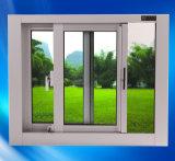 Acristalamiento doble de aluminio / aluminm Oscilo ventanas correderas
