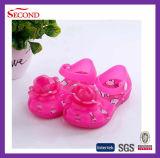 Дети PVC и ботинки малыша с Bowknot Rose
