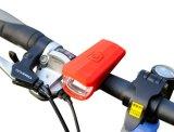 Nachfüllbare LED Fahrrad-Leuchte wasserdichte Schleife-Fackel-Fahrrad-Lampe USB-