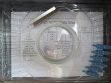 acoplador óptico del divisor de fibra 1X7 con el conector de FC/APC