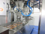 Máquina Nuts automática do selo da suficiência do formulário da bandeja do mapa de Thermoforming dos amendoins