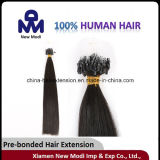 5A poco costoso Natural Micro Loop Hair Extension/Pre-Bonded Hair Extensions