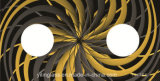 Vidrio Tempered sinterizado color a prueba de calor para la tapa de la estufa de gas