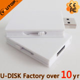movimentação Fullcolor feita sob encomenda do flash do USB do livro do logotipo 1-128GB (YT-1142L)