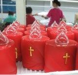 Батарея привелась в действие мелькнутые свечки СИД вечные для погоста