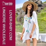 White Beach Caftan L51252