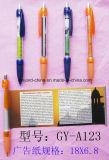 Pen van de Banner van het Embleem van de bevordering de Plastiek Aangepaste voor Advertisting