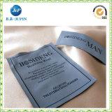 L'indumento ha personalizzato i contrassegni tessuti vestiti 100% del poliestere (JP-CL122)