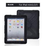 iPad аргументы за крышки компьтер-книжки предохранения 3-Layers цветастое миниое