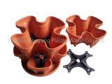 Пластичная Stackable прессформа Flowerpot