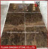 Mattonelle di marmo scure di marmo naturali di Emperador per le mattonelle parete/della pavimentazione