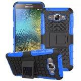 Caja híbrida del teléfono de Kickstand para Samsung E7