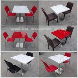 의자 (170428)를 가진 대중음식점 가구 간이 식품 테이블