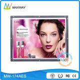 17 visualización del anuncio del LCD del marco abierto de la pulgada HD (MW-174AES)