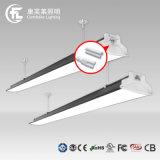 통과되는 100mm 폭 1.5m 60W 7800lm LED 선형 빛 TUV/UL