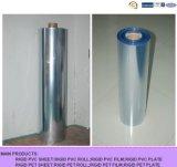 Rolo desobstruído do PVC para a embalagem da bolha