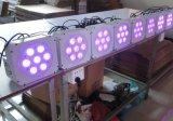 Iluminación plana de la Navidad de la IGUALDAD LED de la colada de la cubierta 7X15W Rgabw