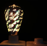 Bombilla de Edison de la vendimia del filamento del LED