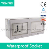 IP55 делают переключатель и Soocket водостотьким