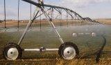 Ampliación de campos agrícolas Centre sistema de riego de pivote