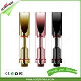 Ocitytimes nessun vaporizzatore dell'olio di Cbd di vetro 510 dello stoppino 0.5ml C2/C2-F