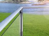 As2208 호주 표준 유리제 Frameless 유리제 방책