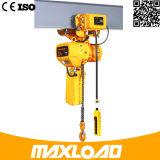 Hijstoestel van de Keten van het Type van Type van Kito van Upmax het 500kg Vaste Elektrische met Ketting Fec
