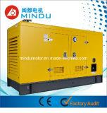 Generador eléctrico diesel refrigerado por agua de 160kVA Weichai