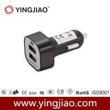 USB Car Charger di CC Double di 5V 3.1A