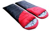 ハート形のキャンプの二重厚く暖かい冬の寝袋