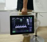 Portable de la máquina del ultrasonido del sistema del ultrasonido de Doppler del color de la pantalla táctil Huc-400