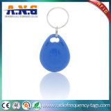 Indicateur de clé d'IDENTIFICATION RF d'ABS de porte durable de Keyfob