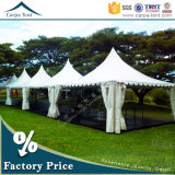 High 팽창할 수 있는 Quality Stylish Peaked 정원 Pagoda Marquee Tent 3mx3m, 4mx4m, 5mx5m, 6mx6m