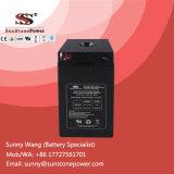 Batterie photovoltaïque d'acide de plomb solaire de système de la cellule sèche 2V 400ah