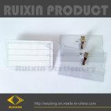 Названного владельца карточки удостоверения личности с зажимом и Pin