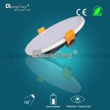 Luz redonda fina do diodo emissor de luz da luz de painel do diodo emissor de luz da alta qualidade 30W