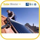 Coletores solares da água da tubulação de calor - tipo da câmara de ar de vácuo
