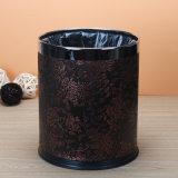 Poubelle de cuir de pièce d'invité, fournisseur d'hôtel (PJ-022)