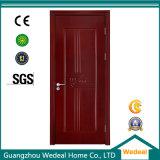 Porta de painel de madeira de mogno do MDF do folheado (WJM702)
