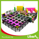 Tipo de interior parque gimnástico grande del trampolín del aire de Dodgeball