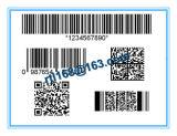 Producción y procesamiento de impresión de etiquetas de código de barras