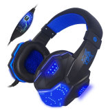 Mic LED Light를 가진 본래 PC780 USB+3.5mm Stereo Gaming Headphone