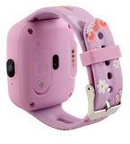 Relógio esperto impermeável do relógio do perseguidor do GPS para crianças dos miúdos